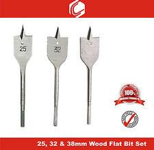 Deal 5 - Flat Wood Boring Drill Bit 25, 32 & 38mm