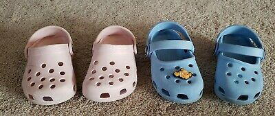 Girls Crocs size 4/5 | eBay