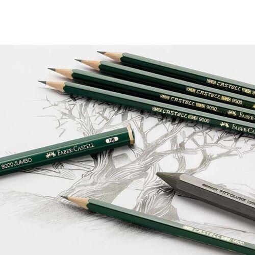 Faber-Castell 119065 Art Set mit 12 Bleistiften Castell 9000 0,98€//Stück
