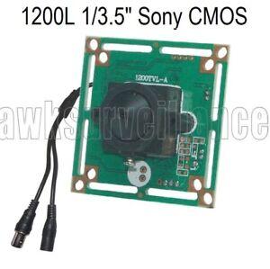 Details about HD 1200TVL CCTV Camera Board 1/3 5