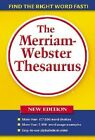 Merriam-Webster Thesaurus by Merriam Webster,U.S. (Paperback, 2005)