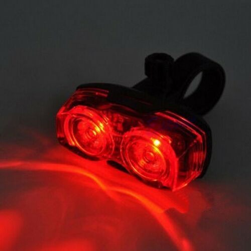 front USB rechargeable /& rear 2 LED bike lights kit set for mountain road bikes