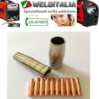 SET RICAMBI TORCIA BZ 15 PER SALDATRICE A FILO TECHNOMIG TELWIN AWELCO DECA