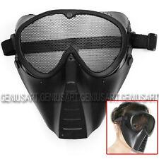 Nueva Máscara Protectora para La Cara Airsoft Caza Juego Militar BB Pistola