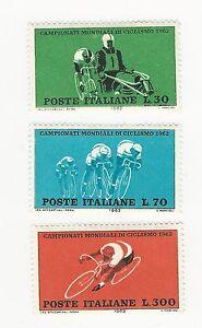 1962-ITALIA-REPUBBLICA-Campionati-mondiali-di-ciclismo-serie-completa-nuovi