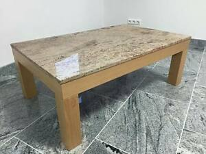 Marmortisch tischgestell buche couchtisch platte marmor for Wohnzimmertisch platte