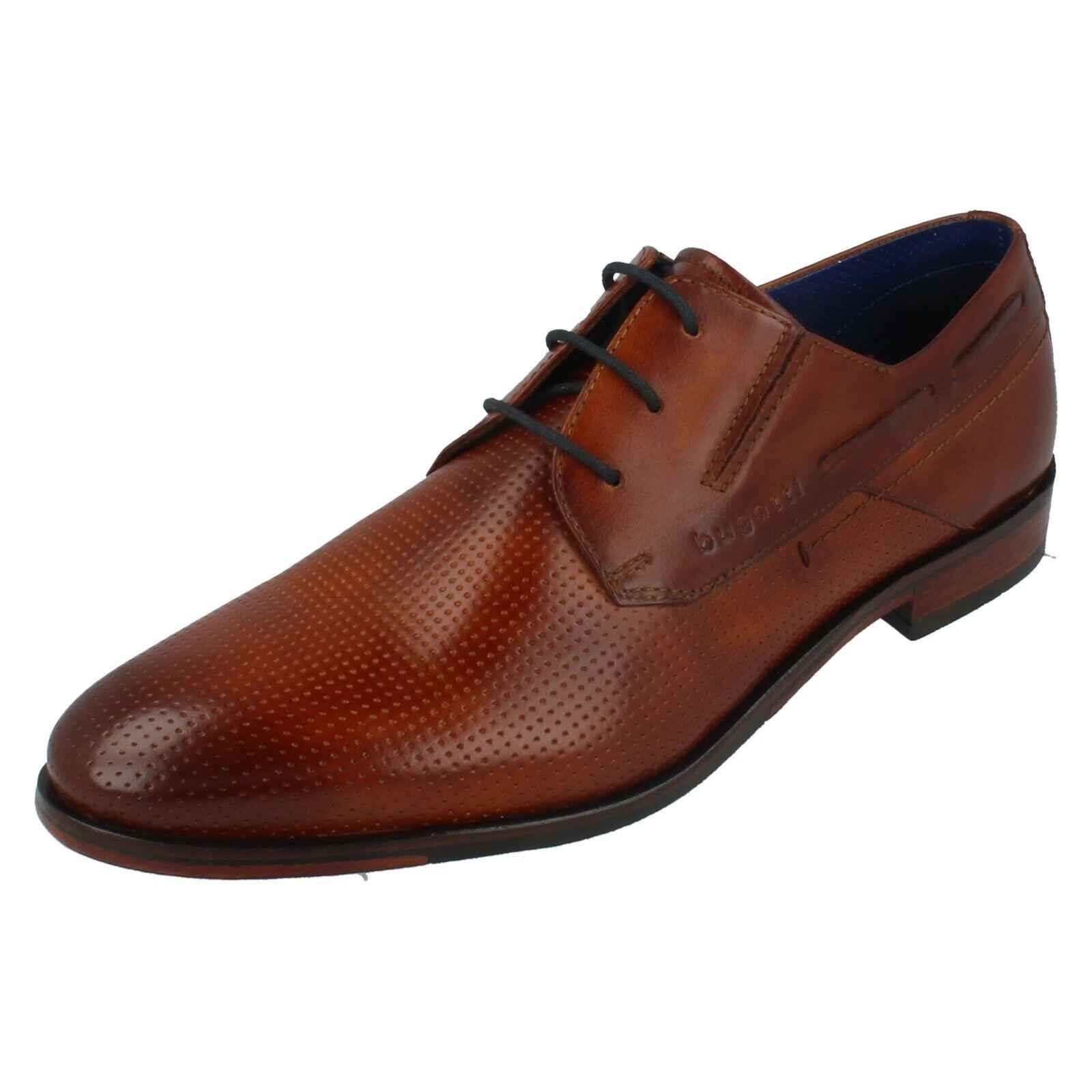 Hombre Bugatti Elegante Zapato Elegante con Cordones 311-67703-1100