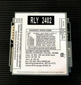 RLY2402 Lochinvar Ignition Module RLY 2402 for sale online