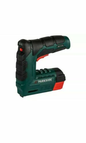 Parkside 4 V sans fil ongles et agrafeuse outil Pat 4 C4+ Inc Staples