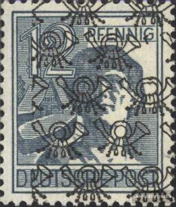 Bizone-Alliierte-Besetzung-40II-gestempelt-1948-Netzaufdruck
