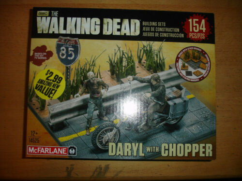 The Walking Dead TV Daryl Dixon with Chopper McFarlane Toys Building Sets