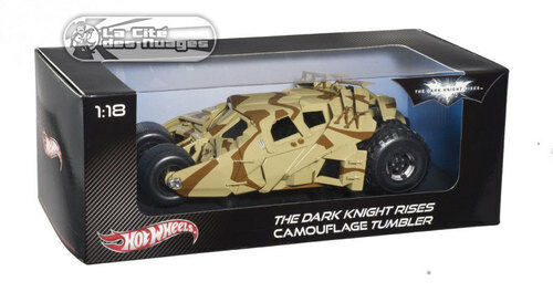 Batman Batmobile The Dark Knight Rises Camo Tumbler Camouflage Heritage 1 18