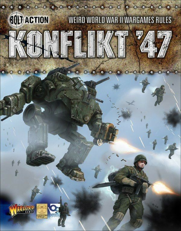 Konflikt 47 Rule Book (English) Warlord Games WW2 1947 Rulebook 2 World War