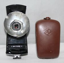Agfa Agfalux - Vintage Fan Flash in Case - vgc