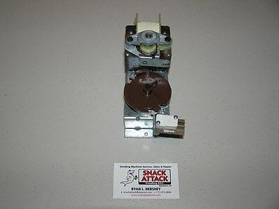 DIXIE NARCO 501T SODA VENDING MACHINE YELLOW /& GREEN CAM DISC VEND MOTOR