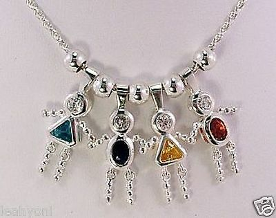 December Birthstone Crystal sterlng silver charm .925 x1 Birthstones