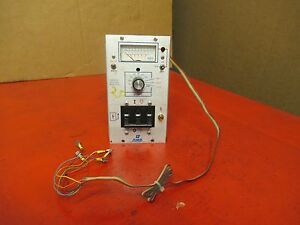 DME SPP CURRENT VOLTAGE MONITOR 0-40A A AMPS 100-280V VOLTS USED