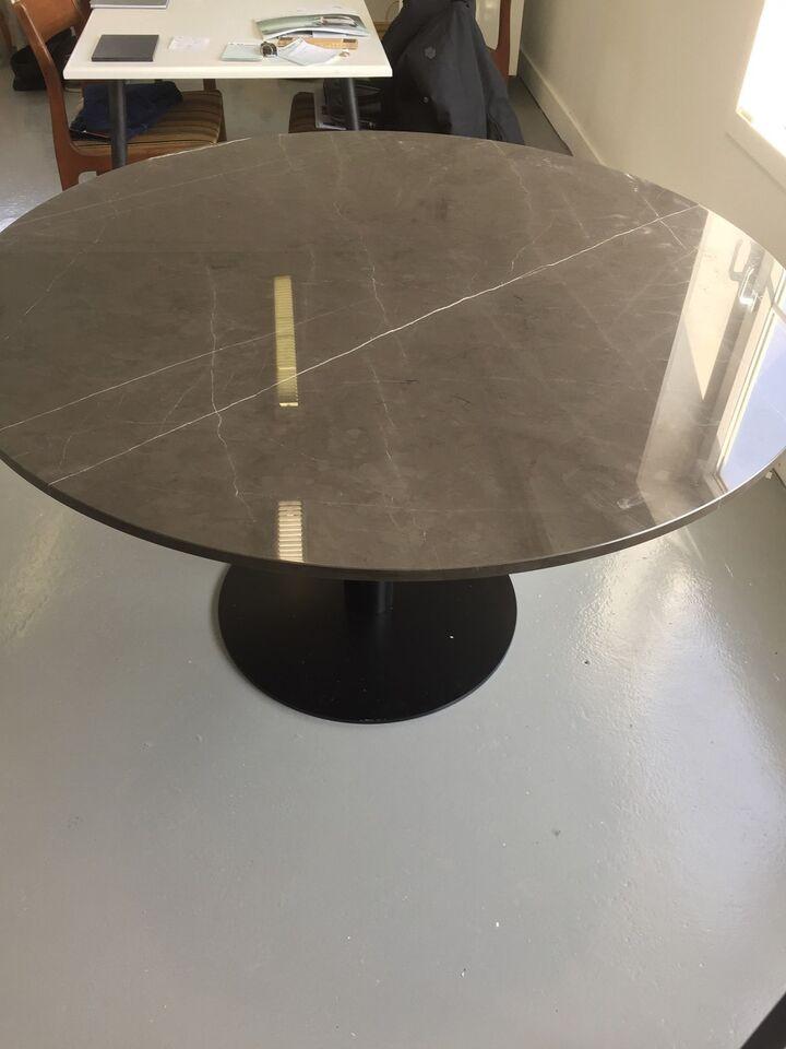 Spisebord, Marmor , b: 130 l: 130 – dba.dk – Køb og Salg af Nyt og Brugt