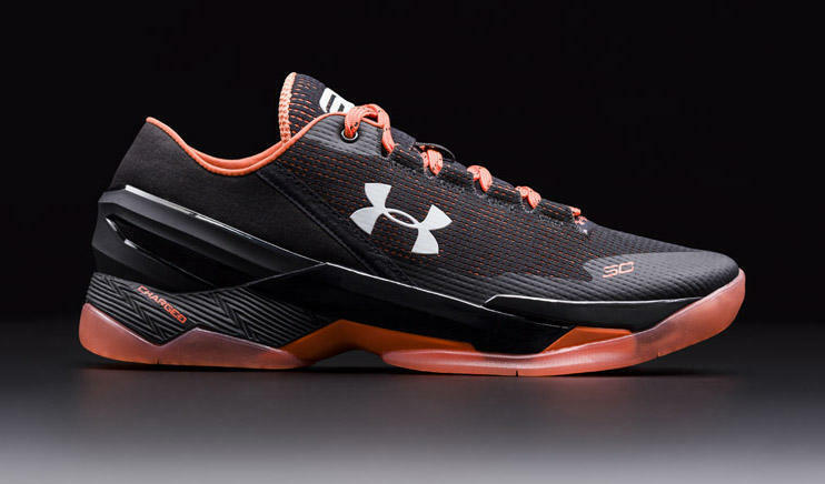 Under Armour Curry 2 Low SF San Francisco Giants Black Orange 1264001-004 Men 16