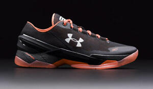 Under Armour Curry 2 Low SF San Francisco Giants Black Orange ... 577e9a340283