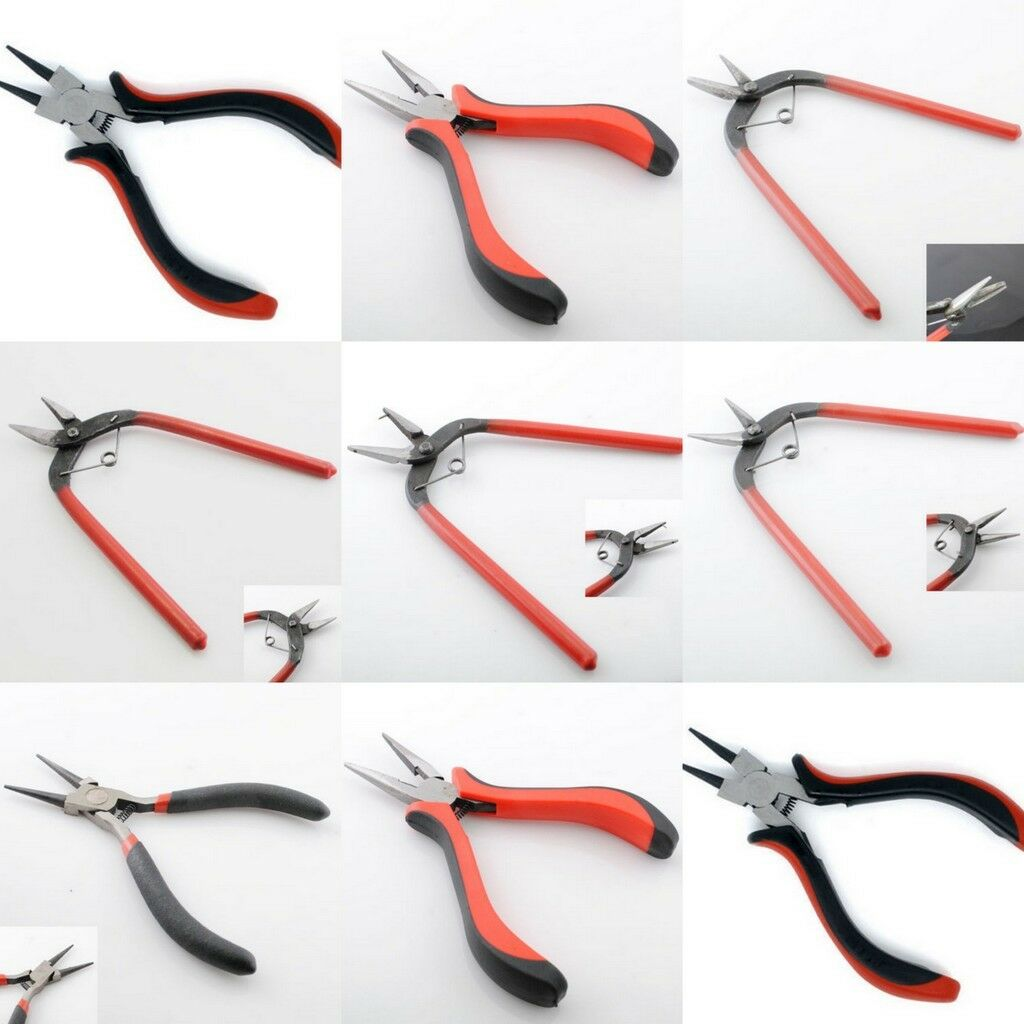 beading crimping crimper pliers beading jewelry craft design tools 8 styles. Black Bedroom Furniture Sets. Home Design Ideas