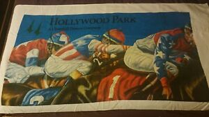 Hollywood-Park-Racetrack-Beach-Towel
