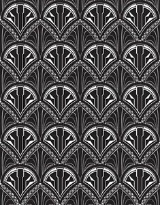 Art-Deco-1920-039-s-Vintage-Print-Background-cake-Edible-A4-ICING-SHEET