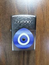 "Zippo  ""EVIL EYE"" - chrome satiniert - NEU - #542"