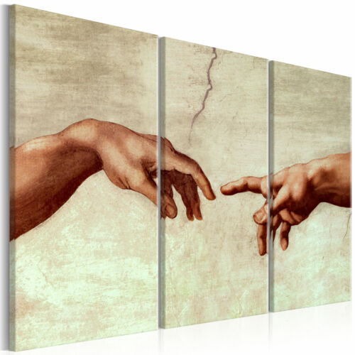 Murals XXL the Creation of Adam Canvas Pictures Living Room XXL l-c-0004-b-e