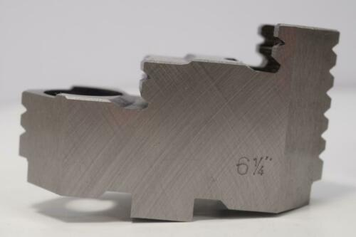 "4 New BISON Hard Top Jaws for 4 Jaw 6/"" 6-1//4/"" Lathe Chuck  $341 List"