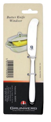 Windsor couteau à beurre par Grunwerg En Acier Inoxydable 16 cm épandeur-LIVRAISON GRATUITE