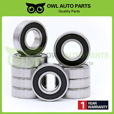 6002rs 15x32x9 6002-2RS Premium Rubber Sealed Ball Bearing 2 QTY