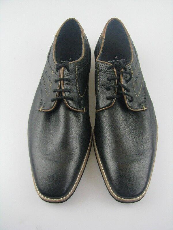 Daniel Hechter 811-12204 mezza scarpa pelle nera tg 42