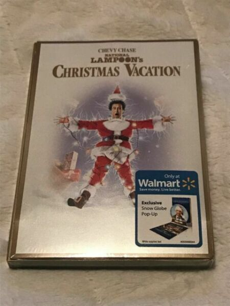 National Lampoon's Christmas Vacation DVD With Snow Globe