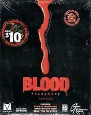 Vintage Blood Shareware: Spill Some Boxed Version (1997 Dos/PC, Cd-Rom)BRAND NEW