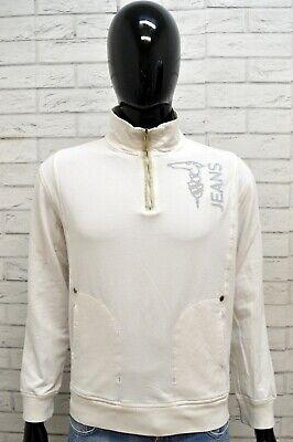 Maglione GUESS Uomo Taglia M Pullover Blu Sweater Man