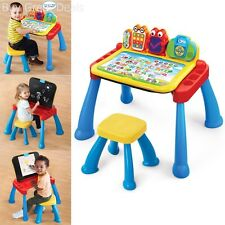VTech Learning Play Touch Learn Activity Toddler Desk Educational Table Kids