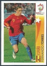 PANINI EURO 2008- #516-ESPANA-SPAIN & LIVERPOOL-FERNANDO TORRES IN ACTION