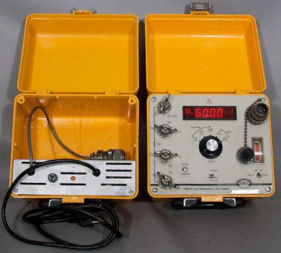 Biddle Megger 24-1JK DLRO-247000 Digital Low Resistance Ohmmeter 10 A