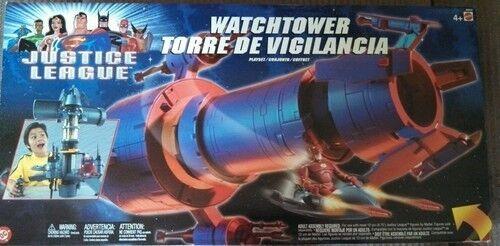Liga De La Justicia torre de vigilancia Conjunto de Juego Nuevo Sellado Por Mattel