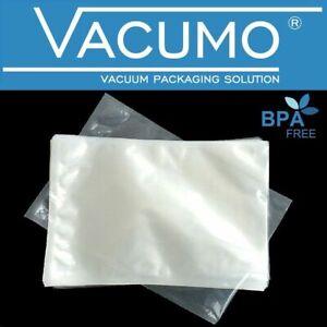 200 Vakuumbeutel 10 x 30 cm VACUMO S-VAC Vakuumfolie Vakuumierbeutel goffriert
