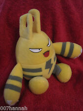 1 Pokemon Stofftier:Elekid (ca.16cm)/Hasbro/gebraucht/Plüsch/Plush/Figure/K4