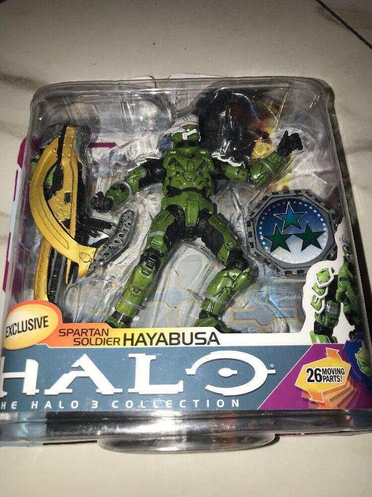 McFarlane HALO Series 6 Medal Edition Sage Spartan Soldier Hayabusa Sealed