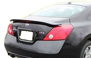 Nissan 2 Door >> Details About Painted 2008 2013 Rear Trunk Spoiler For A Nissan Altima 2 Door Coupe