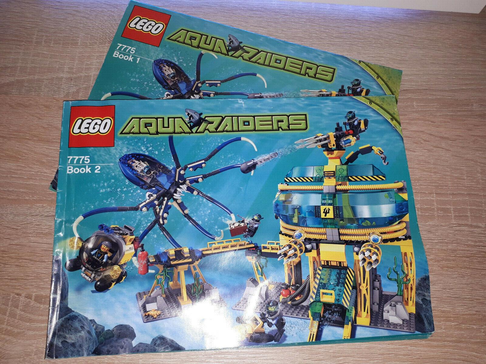 Lego Lego Lego Aqua Raiders 7775 Aqua Basisstation 795cb1