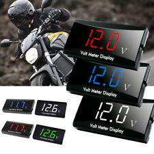 Car Motorcycle Digital Led Display Voltmeter Voltage Gauge Panel Meter Accessory