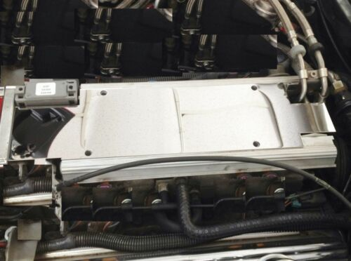 Corvette C4 1992 4 Pc FUEL RAIL INTAKE MAP SENSOR Stainless steel chrome
