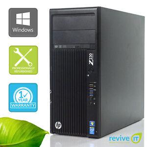 Details about Custom Build HP Pro Z230 Workstation i5-4570 3 20GHz Desktop  Computer PC