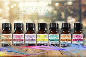 TOP-Essential-Oil-Gift-Set-7-Aromatherapy-Oil-Therapeutic-Grade-10ml-by-Sponix