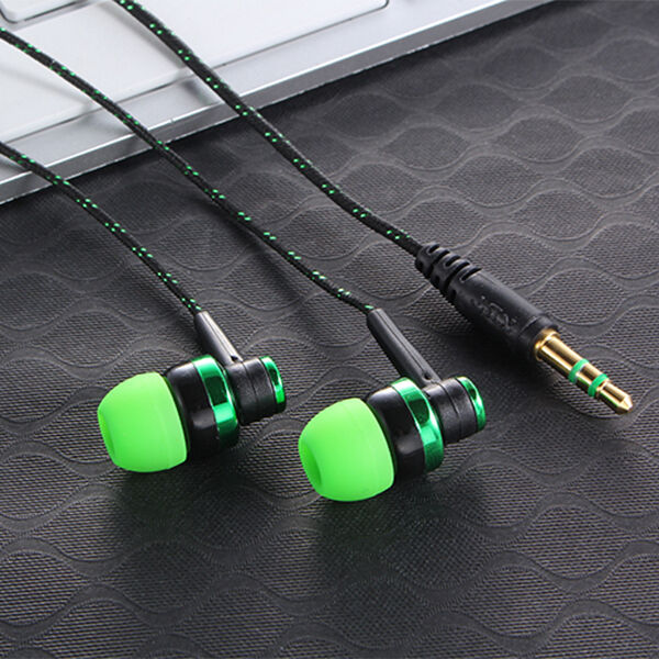1Pcs Stereo In-Ear Earphone Headphone Headset Earbuds 3.5mm For iPhone Samsung